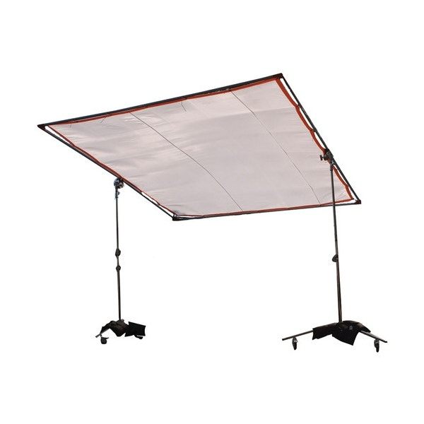 """Matthews Studio Equipment 8 x 8' Butterfly/Overhead Hollywood Frame - 1"""" Square Tubing"""