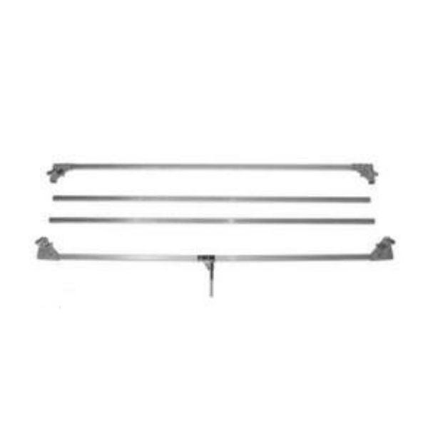 """Matthews Studio Equipment 20 x 20' Butterfly/Overhead Hollywood Frame - 1-1/4"""" Square Tubing"""