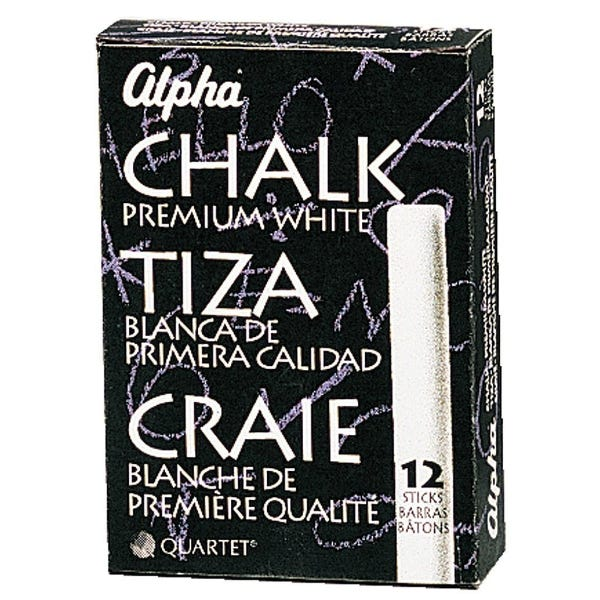 Triple Chalk - 1 Dozen, White