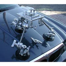 Filmtools Ball-Leveling Head / Suction Cup Camera Mount Kit for Cars