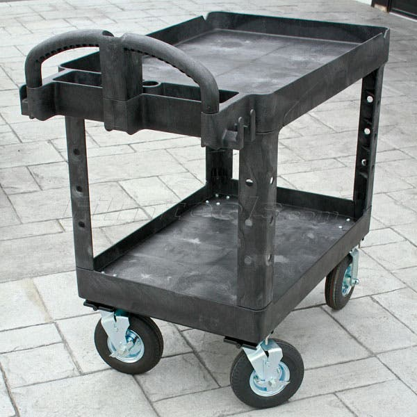 "Rubbermaid Camera Cart - 10"" Pneumatic Tire Wheels"