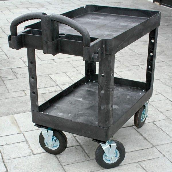 """Rubbermaid Camera Cart - 10"""" Pneumatic Tire Wheels"""