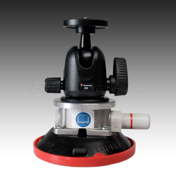 "Gripper 496  - The Filmtools ProBall 4.5"" Vacuum/ Suction-Cup Camera Mount"