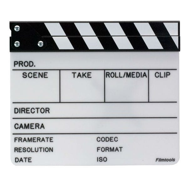 Filmtools Professional Video Slate