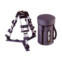 Miller Baby Aluminum 2-Stage Tripod Legs - 100mm Bowl