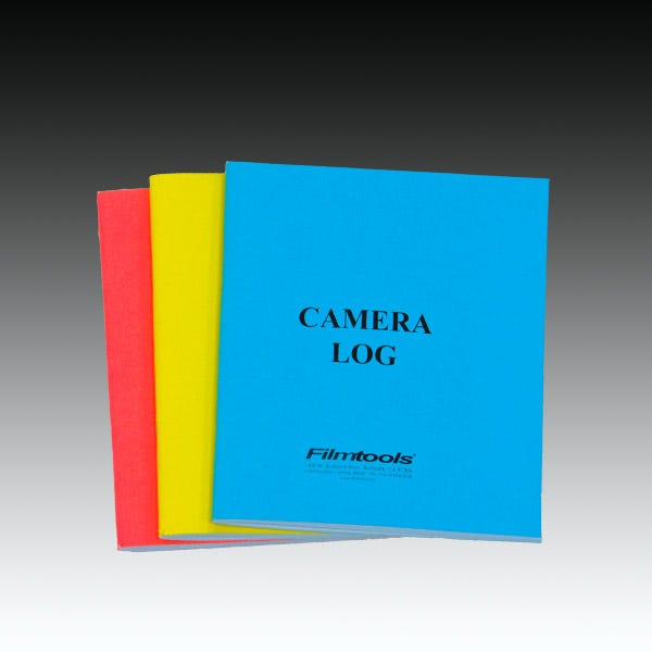 Camera Log Booklet (3 Color Choices)