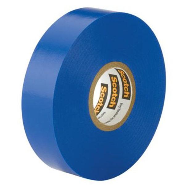 "3M 3/4"" Scotch Vinyl Electrical Tape - Blue"
