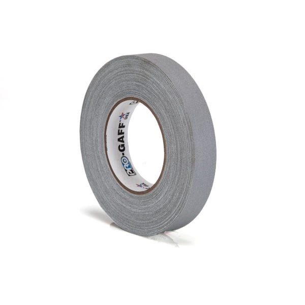 "Pro-Gaff 1"" Gaffer Tape (Camera Tape) - Grey"