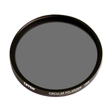 Tiffen 49mm Circular Polarizer Glass Filter