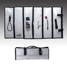"Ripoffs LB-17326 Six Compartment Lure Bag. 17"" x 32"""