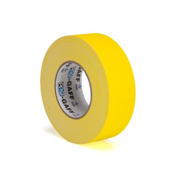 """Pro-Gaff 2"""" Gaffer Tape - Yellow"""