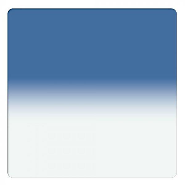 "Schneider Optics 4 x 4"" Graduated Paradise Blue 3 Water White Glass Filter - Soft Edge"