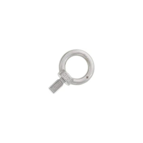 """3/8"""" x 11/16"""" Stainless Steel Machinery Eye Bolt"""