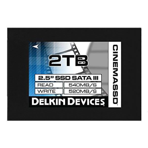 "Delkin 2TB Cinema 2.5"" Internal Solid State Drive"