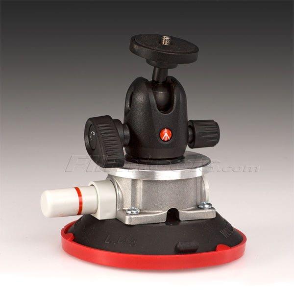 "Gripper Mini 494 - The Filmtools 3/8 4.5"" Vacuum / Suction Cup Camera Mount"