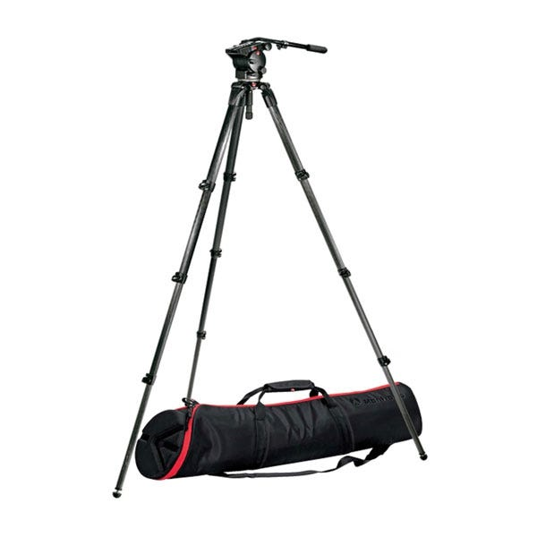 Manfrotto 526,536K Professional Fluid Video Tripod Kit