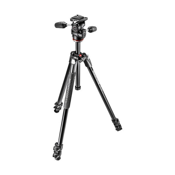 Manfrotto 290 Xtra Aluminum Tripod with 804 3-Way Pan/Tilt Head