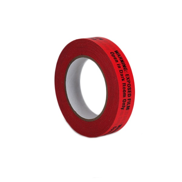 """ProTapes 1"""" Warning Label Adhesive Tape - Red"""