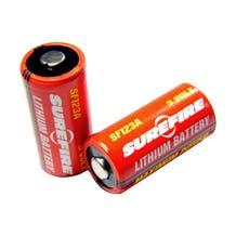 SureFire SF123A Batteries - 2 Pk