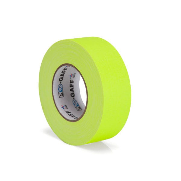 "Pro-Gaff 2"" Gaffer Tape - Fluorescent Yellow"