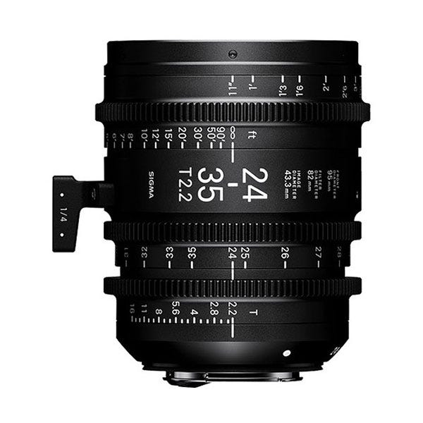 Sigma 24-35mm T2.2 FF Zoom Lens - EF Mount