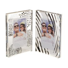 FUJIFILM INSTAX Large Magnetic Frames (Black & White Design, 2-Pack)