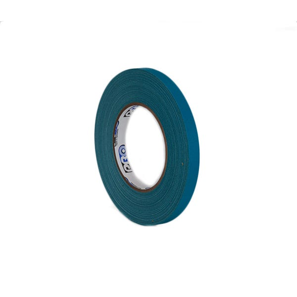 "Pro-Gaff 1/2"" Gaffer Tape (Cloth Spike Tape) - Teal"