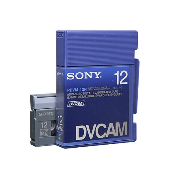 Sony DVCAM Digital Video Tape Cassette 12min