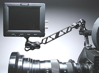 """Ultralight Control Systems 8"""" Video Monitor Mount"""