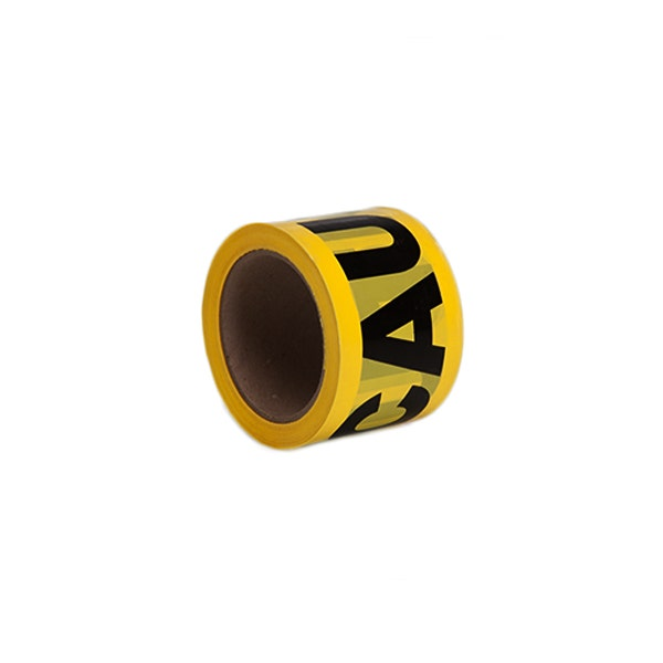 "Filmtools 3"" Caution Tape / Barricade Tape - Yellow"