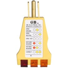 GB Circuit and Receptacle Tester #GRT-500A
