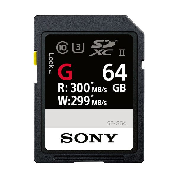 Sony 64GB SF-G Series UHS-II SDXC Memory Card