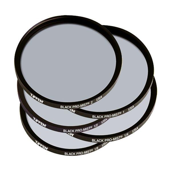 Tiffen 62mm Black Pro-Mist 1/8-2 Filters