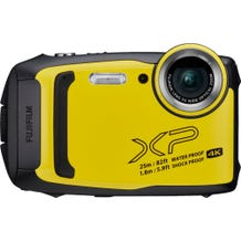 Fujifilm - FinePix XP140 16.4-Megapixel Waterproof Digital Camera - Yellow