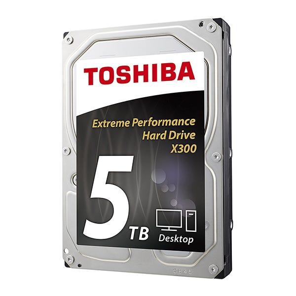 """Toshiba 5TB 3.5"""" - SATA III Internal HDD X300"""