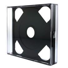 Polyline 2 Disc Unassembled Chubby Jewel Box - Clear