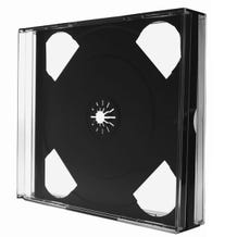 Polyline 3-Disc Unassembled Chubby Jewel Case - Clear