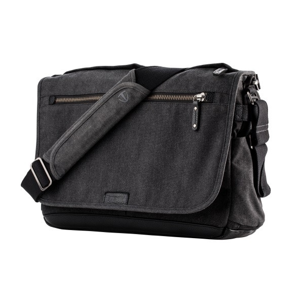Tenba Cooper 15 Slim Messenger Bag - Gray