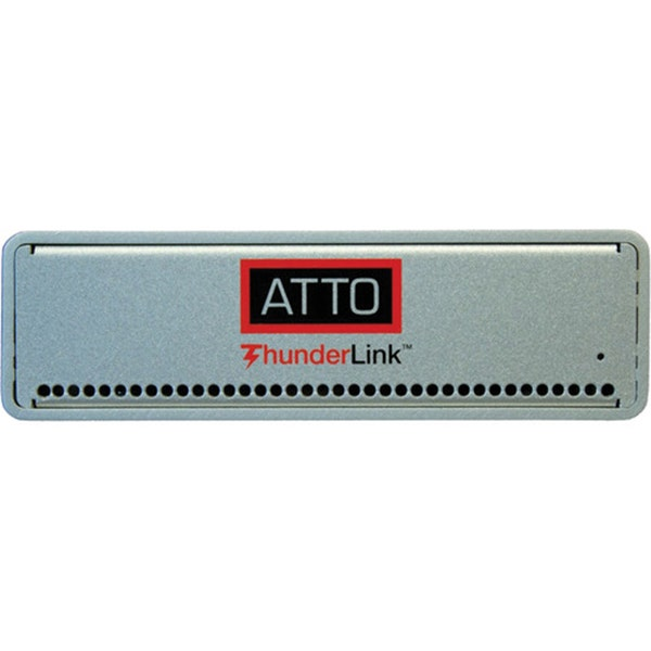 ATTO Technology ThunderLink FC 2162 Thunderbolt 2 to 16 Gb/s Fibre Channel Desklink Device (US)