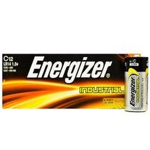 Energizer C Industrial Battery- Alkaline - 12 Pack