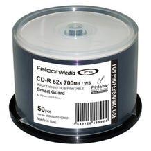 Falcon 52X White Glossy Inkjet Smart Guard Water Resistant Hub Printable CDR  Cake Box - 50pc