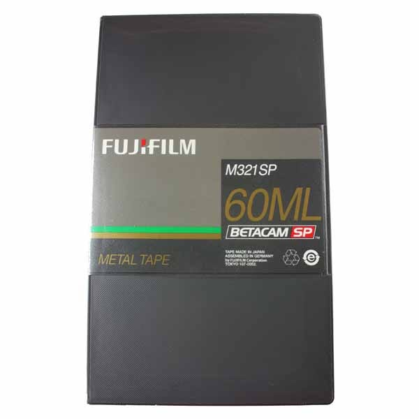 Fuji Betacam SP Video Cassette - 24035060 - 60 Min - Large C
