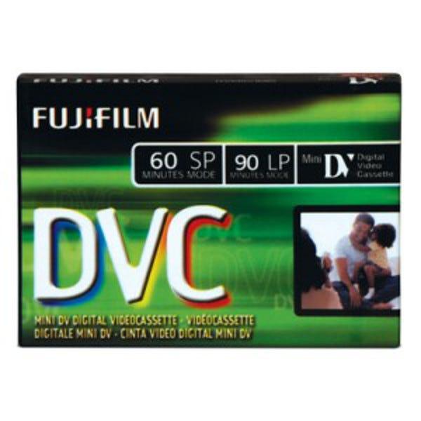 Fuji HDV/DV - 60 Minutes - Consumer Mini DV Cassette - DVCM6