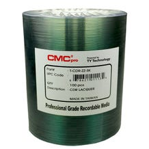 CMC Pro Taiyo Yuden 52X Silver Lacquer Thermal CDR Shrinkwrap- 100pc