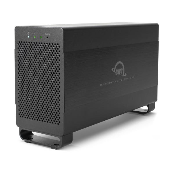 OWC 20TB Mercury Elite Pro Dual 2-Bay Thunderbolt 2 RAID Array