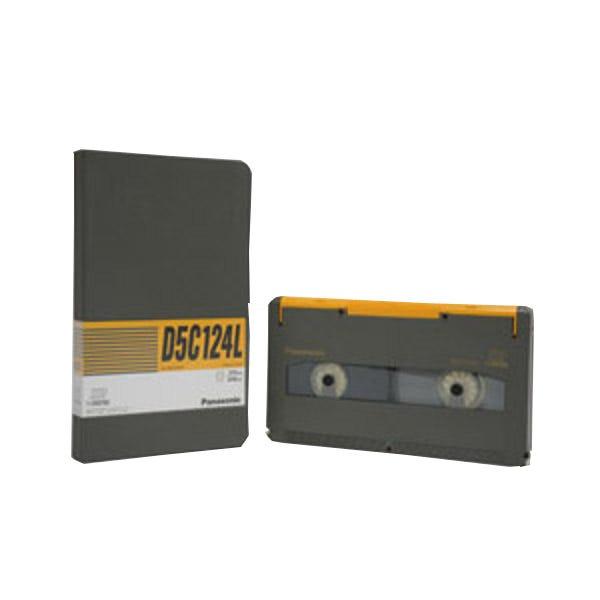 Panasonic AJ-D5C124L 124 Minutes D-5 HD D-3 Video Cassette - Large