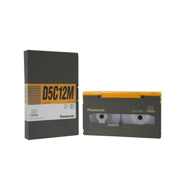 Panasonic AJD5C12M 12 Minutes D-5 HD D-3 Video Cassette - Medium