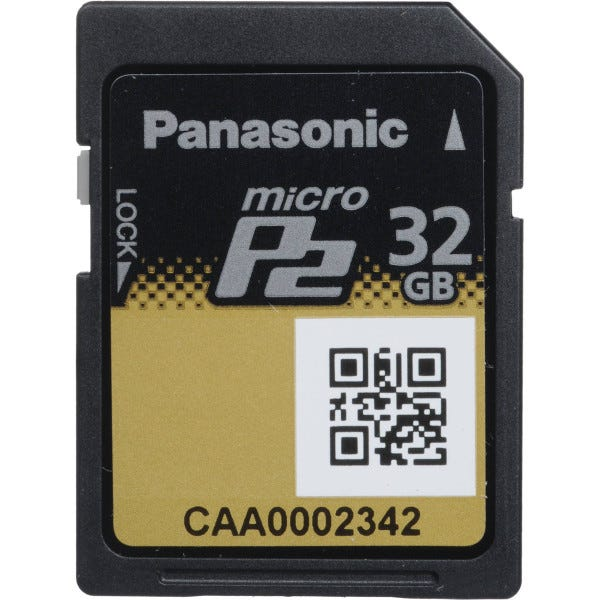 Panasonic 32GB microP2 UHS-II Memory Card