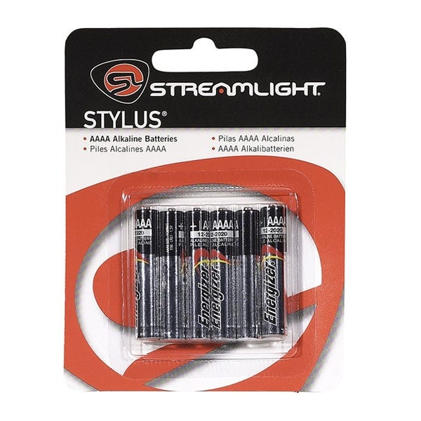 Streamlight Stylus AAAA Replacement Batteries - 6 Pk
