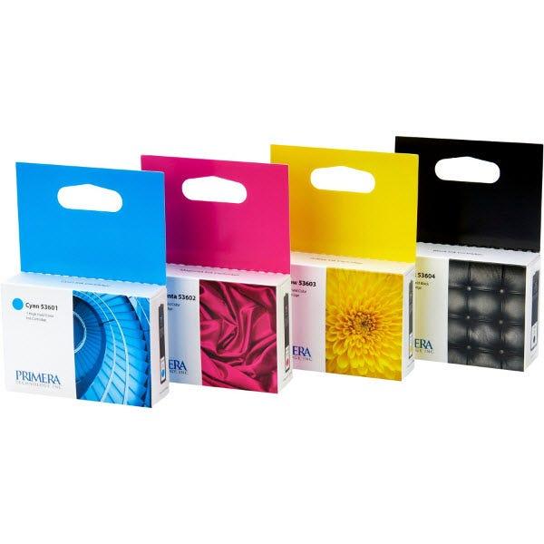 Primera 53606 Bravo 4100 Series Printer Ink - Multipack